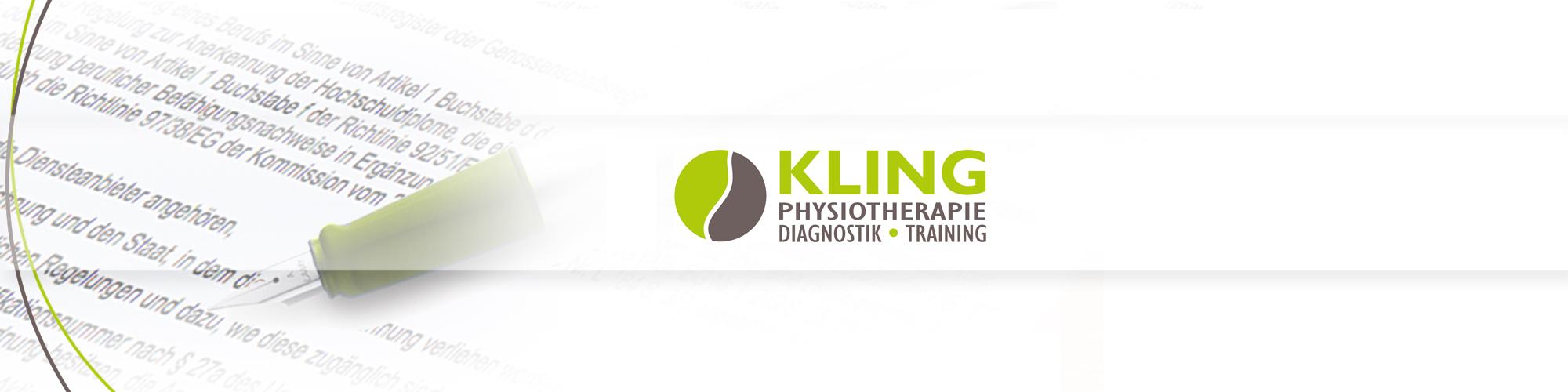 Physio Kling Impressum